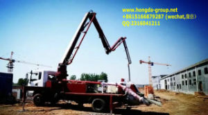 Concrete Pump Truck with Boom pictures & photos