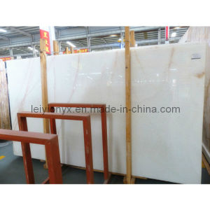 Translucent White Onyx Marble Slab pictures & photos