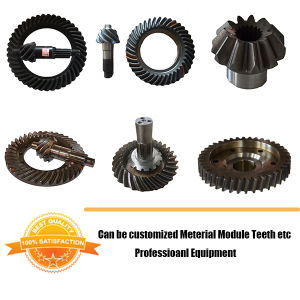 BS3000 Spiral Bevel Gear 10/41 for Toyota Drive Axle Differential Helical Bevel Gear pictures & photos