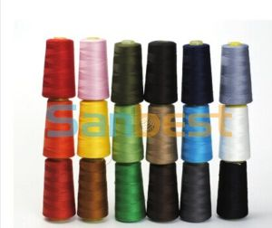 100% High Quality Ring Spun Polyester Sewing Thread pictures & photos