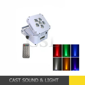 Popular Wireless Rechargeable LED PAR Can Disco Light pictures & photos