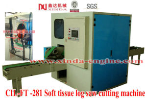 Soft Tissue Paper Log Saw Cutting Machine pictures & photos