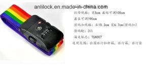 Tsa Strap Lock, Ribbon Lock, Combinaton Lock, The Customs Lock, Xc-0147 pictures & photos