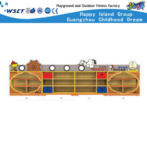 Bus Model Toys Cabinet Kindergarten Wooden Furniture (HC-3101) pictures & photos