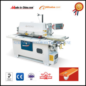 Superior Automatic Straight Trimming Solid Wood Single Blade Rip Saw pictures & photos