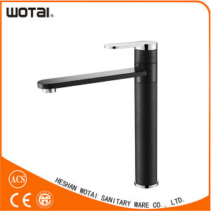 Black Finished Single Lever Kitchen Faucet Wt1100wb-Kf pictures & photos
