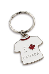 Mini Canada T-Shirt Key Holder for Gift (CAN535) pictures & photos