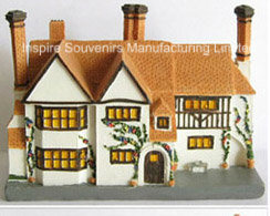 House Scene Resin Gift for Promotion (PMG033) pictures & photos