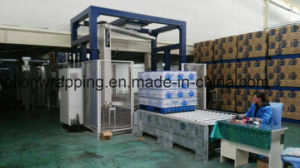 Pallet Drinks Wrapper! Automatic Arm Rotating Wrapping Machine pictures & photos
