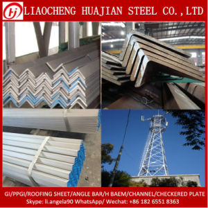 Hot DIP Galvanized Angles for Tower Building pictures & photos