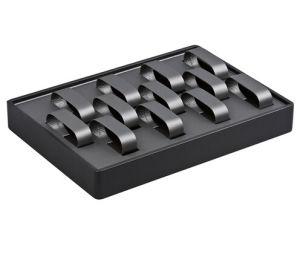 Dark Grey 12-Watch Stackable Display Tray pictures & photos