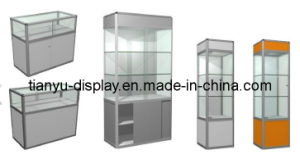 Hot Sale Free Standing Display Cases pictures & photos