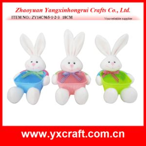 Easter Decoration (ZY14C965-1-2-3 18CM) Easter Bunny Rabbit Box Peter Rabbit pictures & photos