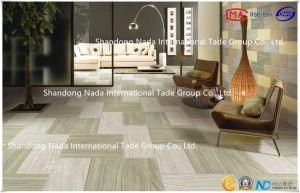 600X600 Building Material Ceramic Light Grey Absorption 1-3% Floor Tile (GT60521+60522+60523+60525) with ISO9001 & ISO14000 pictures & photos