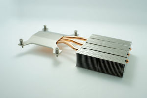 Copper Heat Pipe Aluminum Fin Industrial Instrument Heat Sink pictures & photos