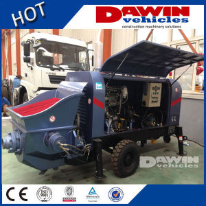 20m3 25m3 30m3/H Small Trailer Concrete Pump with Electric or Diesel Power pictures & photos