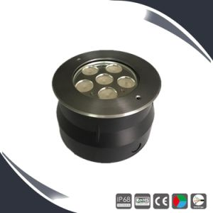 316ss 12/24V 6X3w Underwater Lighting, LED Underwater Light, Swimming Pool Lamp LED pictures & photos