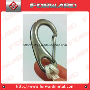 High Polished Stainless Steel Spring Gate Snap Hooks pictures & photos