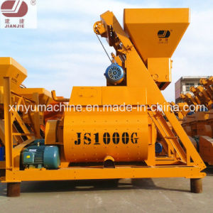 Construction Mixing Mixer Electric Compulsory Concrete Mixer Js1000 pictures & photos