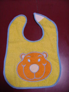 Terry and PEVA Animal Baby Bibs pictures & photos