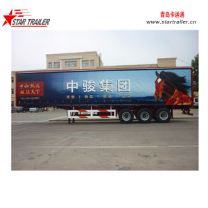 Side Curtain Semi Trailer pictures & photos