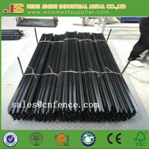 Australia Market 1.65m Black Bitumen Coated Y Shaped Fence Post pictures & photos