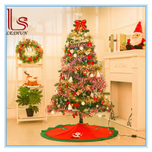 Cheap Wholesale Christmas Decoration150cm Green Christmas Tree with Variou Accessories and LED Light pictures & photos