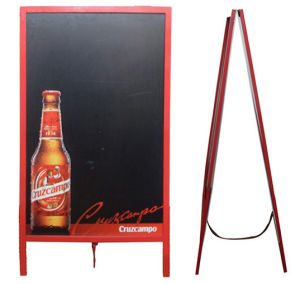 Advertising Blackboard Stander for Wine Bars pictures & photos