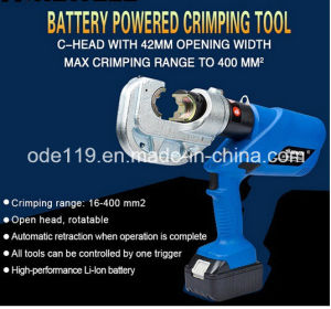 Terminal Crimping Tool (Hc-400) with Battery pictures & photos