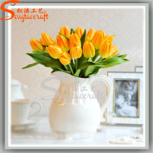 Wedding Decoration Artificial Plant Tulips Silk Flowers pictures & photos