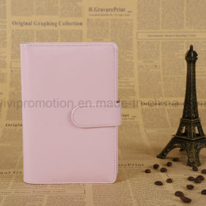 High Quality PU Leather Cover Notebook with Magnetic Closure (PUN405) pictures & photos