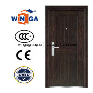 Good Price High Quality Single Doorleaf Security Steel Door (W-S-09) pictures & photos