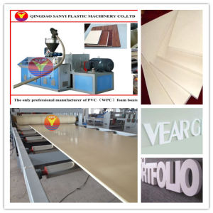 PVC Advertisement Board/Logo Board Extrusion Machine pictures & photos