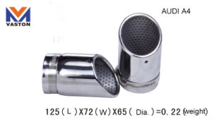 Exhaust/Muffler Pipe for Audi-A4, Made of Stainless Steel 304b pictures & photos