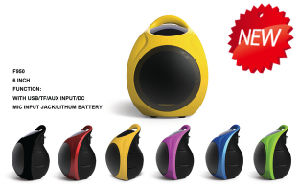 Mini Audio Speaker Battery Speaker F950 pictures & photos