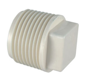 PVC-U Pipe Fittings BS Theraded Fittings Male Plug (M47) pictures & photos