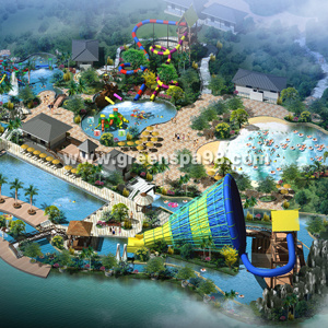 Outdoor Water Park Conceptual Design pictures & photos