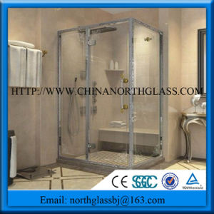 with Self-Cleaning Coating Shower Door Glass pictures & photos