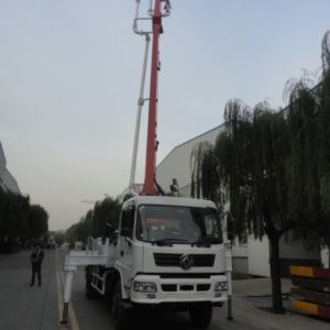 25m Concrete Pump with Boom, Truck Mounted Boom Pump pictures & photos