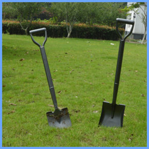 Agricultural Farming Tools Square Steel Shovel with Steel Handle pictures & photos