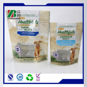 Printed Ziplock Pet Food Bag with Clear Window pictures & photos