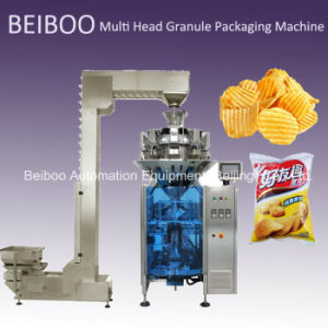 Z-Shaped Automatic Multi-Head Granule Weighing Packaging Machine pictures & photos