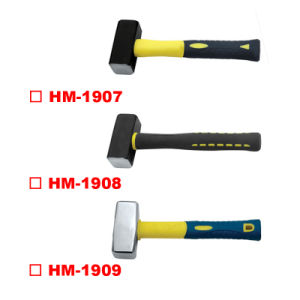 Germany Type Stoning Hammer with TPR Handle pictures & photos