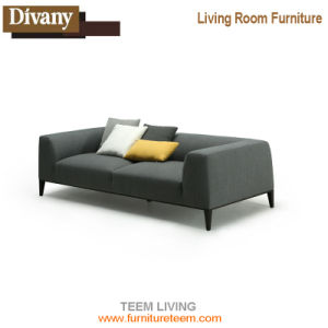 Brand Name Latest Fabric Lobby Office Scandinavian Simple Living Room Furniture pictures & photos