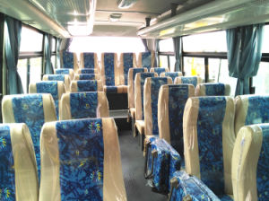 Low Price 30 Seats Coach Bus with Yuchai Engine pictures & photos