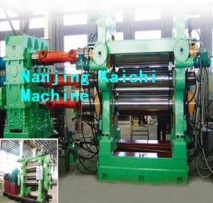 Four Rollers Rubber Calendering Machine