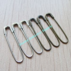 Wholesale Silver and Antibrass Metal Coiless Safety Pins