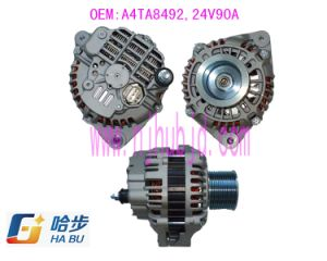 AC/ Auto Alternator for Iveco A4ta8491 A4ta0591 24V 90A pictures & photos