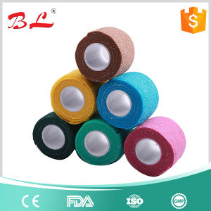 Premium Variety of Colors 5cm Coban Cohesive Bandage Athletic Support Tape Rolls pictures & photos