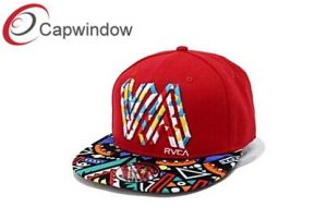 Hip-Hop Snapback Hat with Stereo Embroidery (01093) pictures & photos